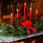 Jak zrobić stroik bożonarodzeniowy ze świecą krok po kroku?